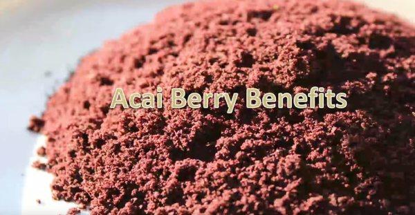 korzyści z przyjmowania jagód acai w odchudzaniu są ogromne